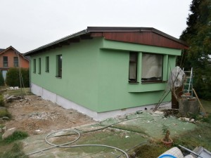 Zateplený mobilní dům